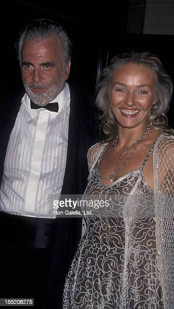Actor Maximillian Schell and wife Natasha Schell attend 26th Annual Vision Awards on June 19 1999 at the Beverly Hilton Hotel in Beverly Hills...