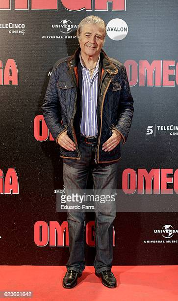 Actor Maximo Valverde attends the 'Omega' premiere at Capitol cinema on November 16 2016 in Madrid Spain
