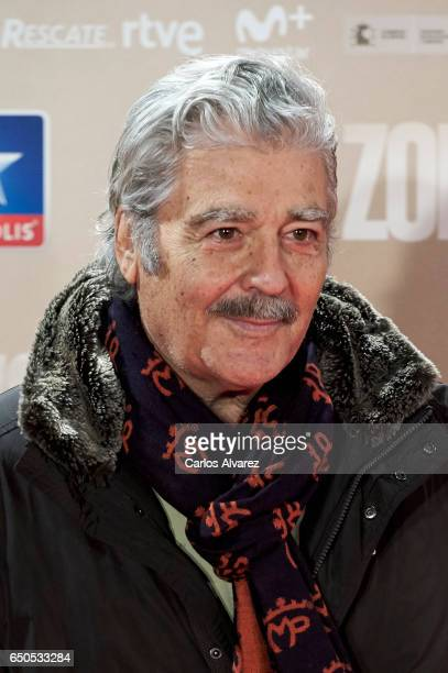 Actor Maximo Valverde attends 'Zona Hostil' premiere at the Kinepolis cinema on March 9 2017 in Madrid Spain