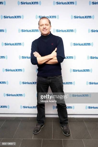 Actor Maxwell Caulfield visits SiriusXM Studios on March 20 2018 in New York City