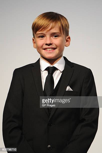 Actor Maxwell Jenkins attends 'The Headhunter's Calling' premiere during 2016 Toronto International Film Festival at Roy Thomson Hall on September 14...