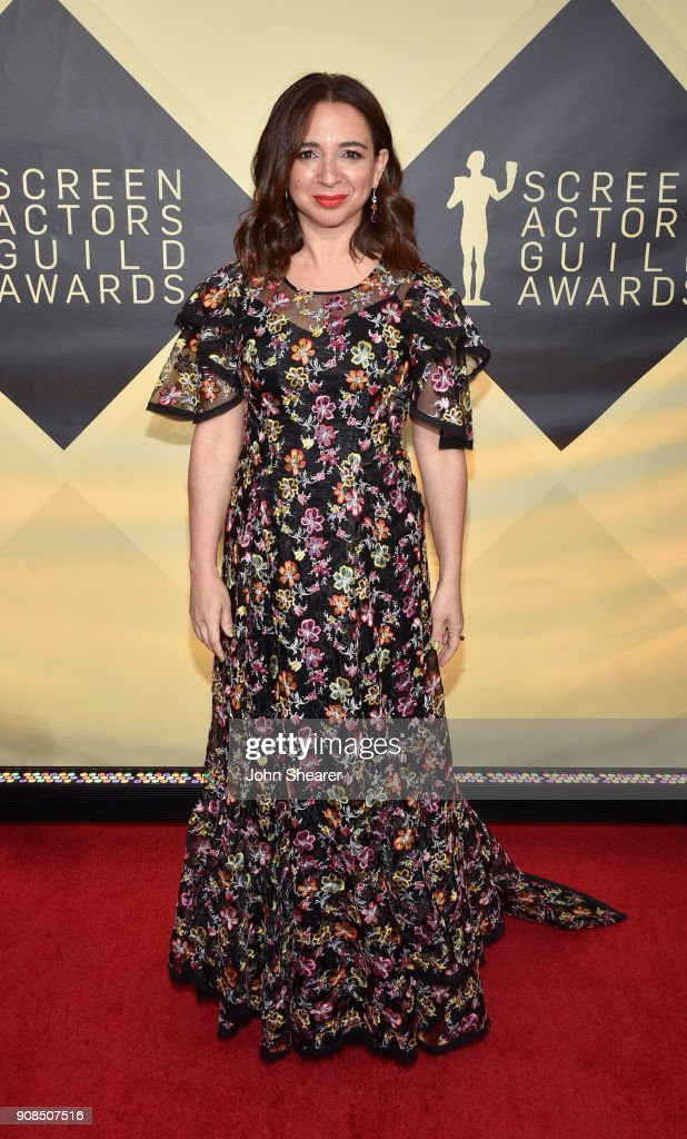 Actor Maya Rudolph attends the 24th Annual Screen Actors Guild Awards at The Shrine Auditorium on January 21, 2018 in Los Angeles, California.