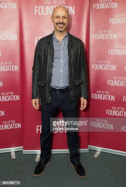Actor Maz Jobrani attends SAGAFTRA Foundation's Conversations with Superior Donuts at SAGAFTRA Foundation Screening Room on March 16 2017 in Los...