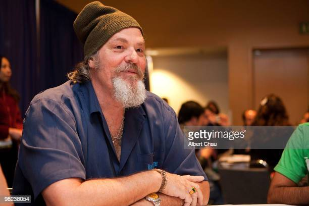 """Actor M.C. Gainey attends the """"Happy Town"""" panel at the 2010 WonderCon - Day 2 at Moscone Center South on April 3, 2010 in San Francisco, California."""
