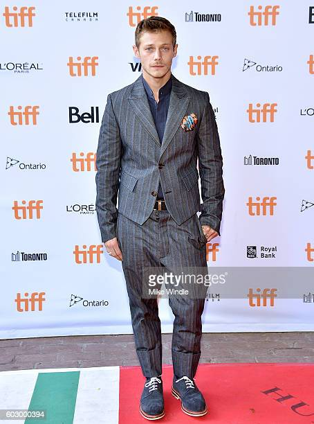 Actor McCaul Lombardi attends the 'American Honey' premiere during the 2016 Toronto International Film Festival at Ryerson Theatre on September 11...