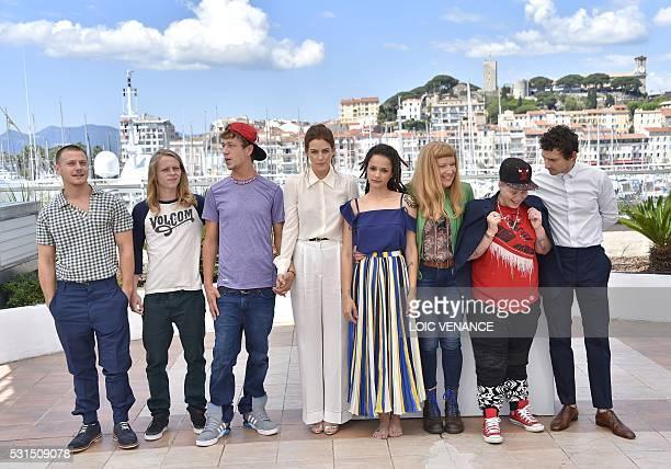 US actor Mccaul Lombardi US actor Isaiah Stone US actor Raymond Coalson US actress Riley Keough US actress Sasha Lane British director Andrea Arnold...
