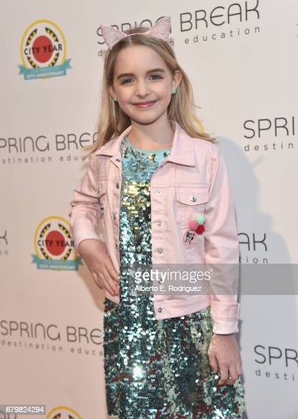 Actor Mckenna Grace attends City Year Los Angeles Spring Break on May 6 2017 in Los Angeles California