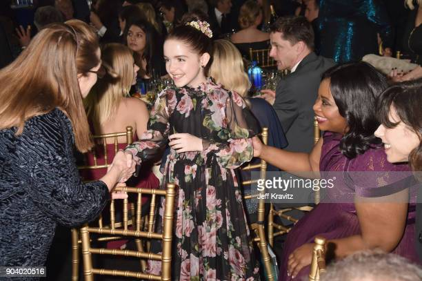 Actor Mckenna Grace attends The 23rd Annual Critics' Choice Awards at Barker Hangar on January 11 2018 in Santa Monica California