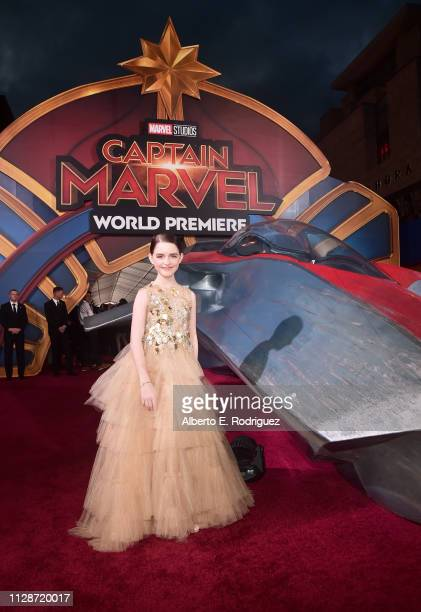 Actor Mckenna Grace attends the Los Angeles World Premiere of Marvel Studios' Captain Marvel at Dolby Theatre on March 4 2019 in Hollywood California
