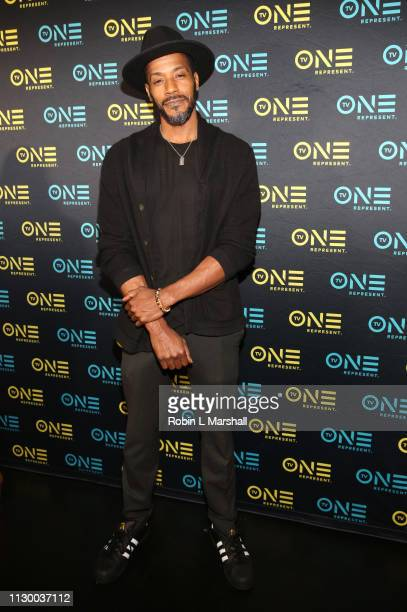 Actor McKinley Freeman attends the TV One Premiere Screening of 'Loved To Death' during the Pan African Film Festival at Baldwin Hills Crenshaw Plaza...