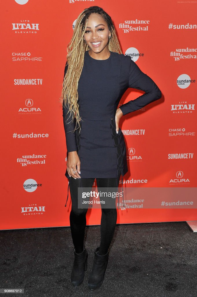 Actor Meagan Good attends the 'A Boy, A Girl, A Dream' Premiere during the 2018 Sundance Film Festival at Park City Library on January 22, 2018 in Park City, Utah.