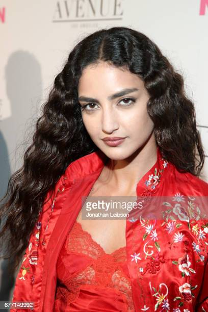 Actor Medalion Rahimi at the NYLON Young Hollywood Party at AVENUE Los Angeles on May 2 2017 in Los Angeles California
