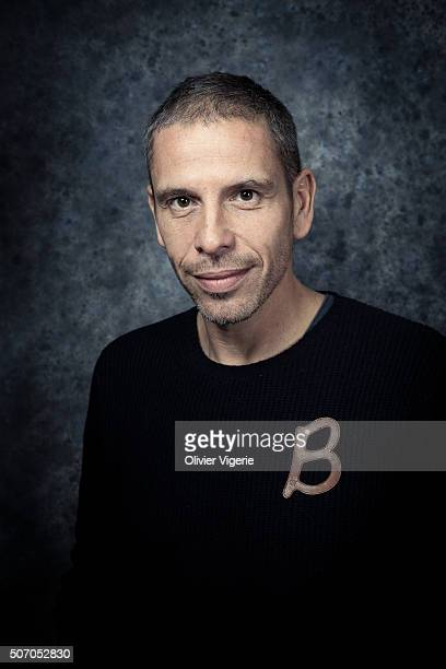 Actor Medi Sadoun is photographed for Self Assignment on January 13, 2016 in Alpe d'Huez, France.