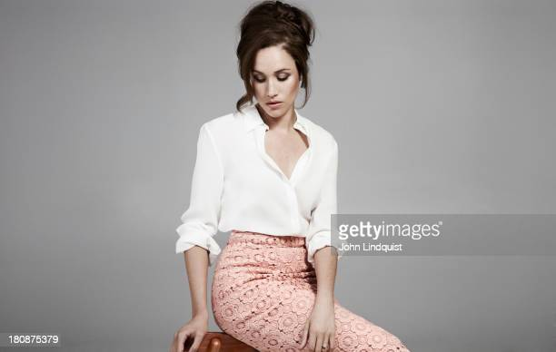 Actor Meghan Markle is photographed for Mr Porter magazine on May 30 2012 in London England