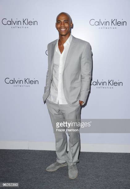 Actor Mehcad Brooks arrives at Calvin Klein Collection Los Angeles Nomadic Division 1st Annual Celebration For LA Arts Monthly and Art Los Angeles...