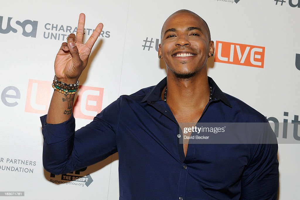 Actor Mehcad Brooks arrives at the 'UniteLIVE: The Concert to Rock Out Bullying' at the Thomas & Mack Center on October 3, 2013 in Las Vegas, Nevada.
