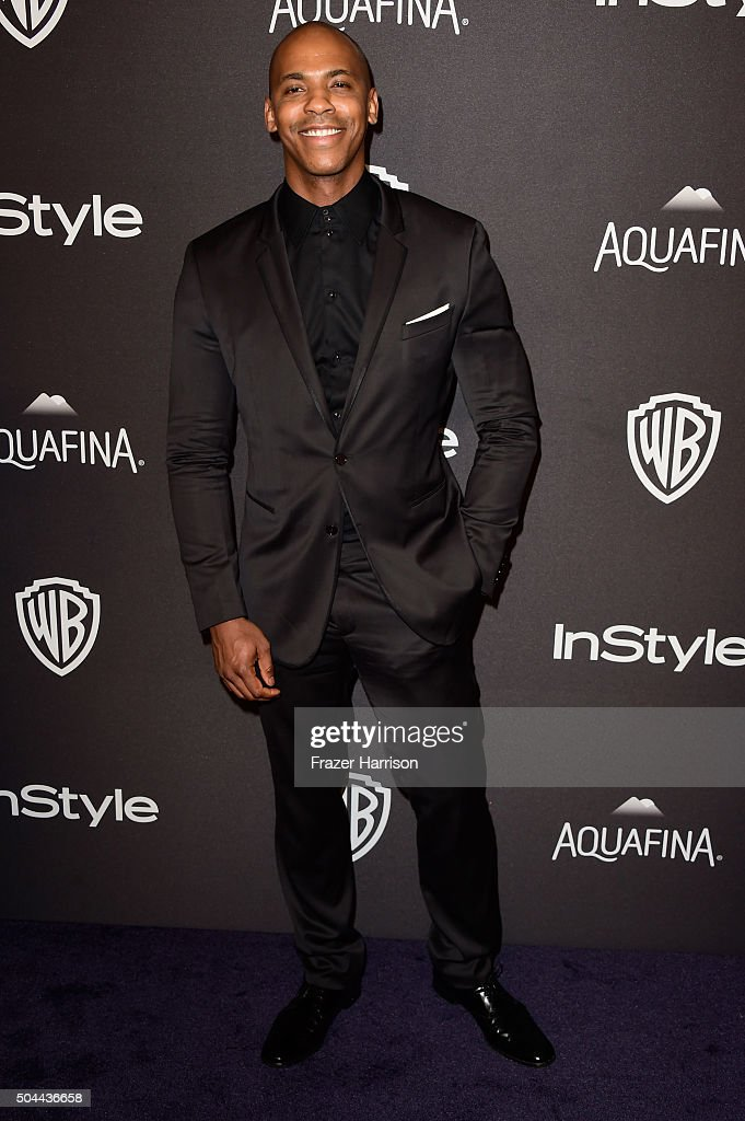 Actor Mehcad Brooks attends InStyle and Warner Bros. 73rd Annual Golden Globe Awards Post-Party at The Beverly Hilton Hotel on January 10, 2016 in Beverly Hills, California.