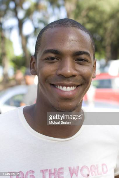 """Actor Mehcad Brooks attends the 1st Annual Charity Celebrity Triathlon Hosted By """"Tag the World"""" on August 23 2009 in Waikiki Hawaii"""