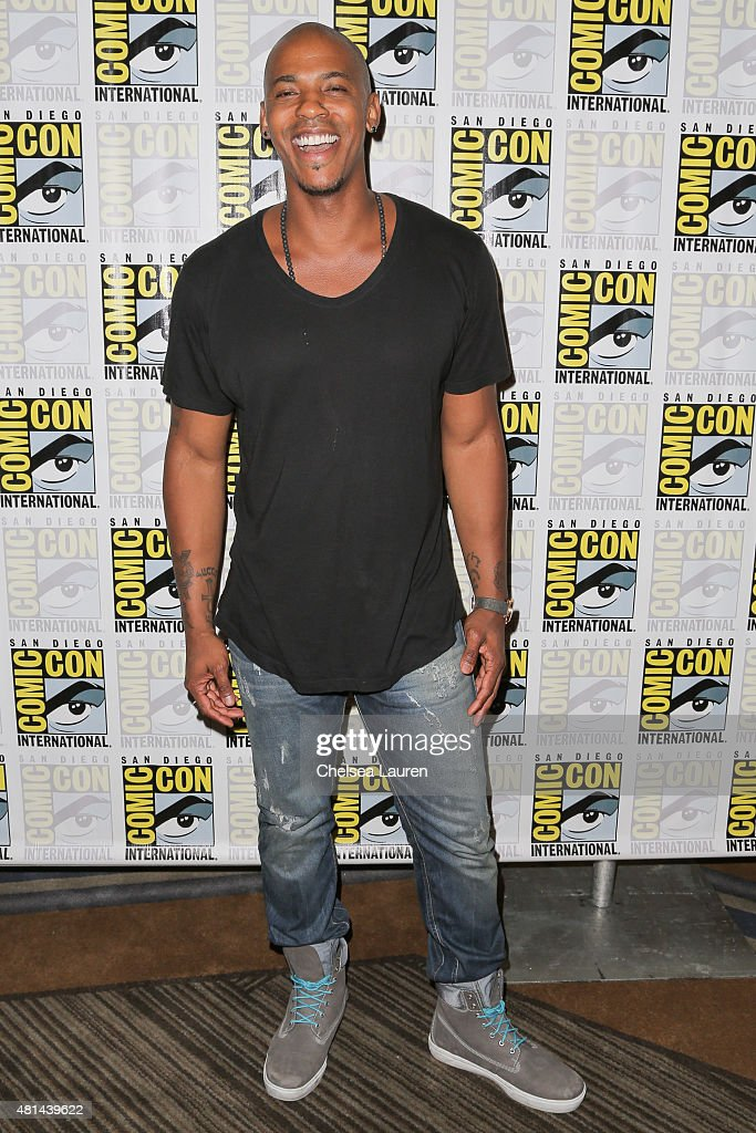 Actor Mehcad Brooks attends the 'Supergirl' press room on July 11, 2015 in San Diego, California.
