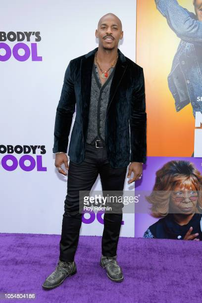 Actor Mehcad Brooks attends the world premiere of 'Nobody's Fool' at AMC Lincoln Square Theater on October 28 2018 in New York New York