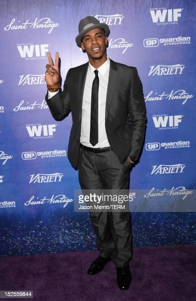 Actor Mehcad Brooks attends Variety and Women in Film PreEMMY Event presented by Saint Vintage at Scarpetta Beverly Hills on September 21 2012 in...