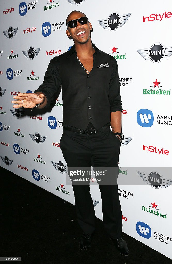 Actor Mehcad Brooks attends Warner Music Group's 2013 Grammy Celebration at Chateau Marmont's Bar Marmont on February 10, 2013 in Hollywood, California.