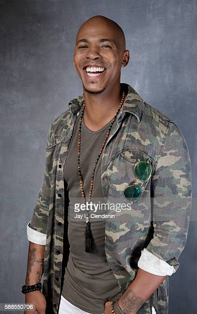 Actor Mehcad Brooks of 'Supergirl' is photographed for Los Angeles Times at San Diego Comic Con on July 22 2016 in San Diego California
