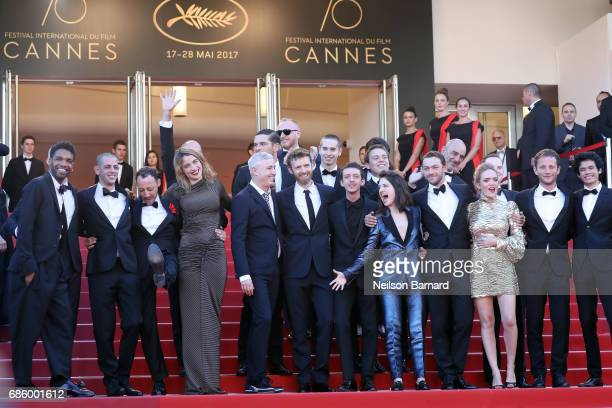 Actor Mehdi RahimSilvioli ActUp cofounder Didier Lestrade actor JeanFrancois Auguste actress Adele Haenel actor Ariel Borenstein director Robin...