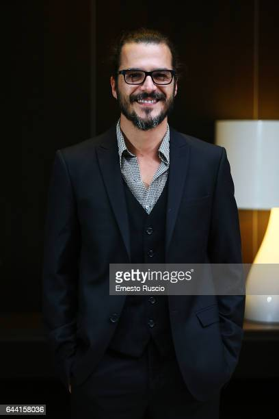 Actor Mehmet Gunsur attends a photocall for 'Rosso Istanbul' at NH Hotel on February 23 2017 in Rome Italy