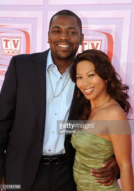 Actor Mekhi Phifer and guest arrive at the 7th Annual TV Land Awards held at Gibson Amphitheatre on April 19, 2009 in Universal City, California.