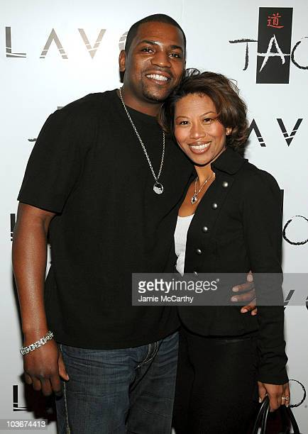 Actor Mekhi Phifer and Oni Souratha attend the TAO and LAVO anniversary weekend held at TAO in the Venetian Resort Hotel Casino on October 3 2009 in...