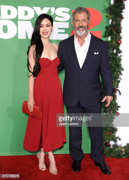 Actor Mel Gibson and Rosalind Ross attend the premiere of 'Daddy's Home 2' at Regency Village Theatre on November 5 2017 in Westwood California