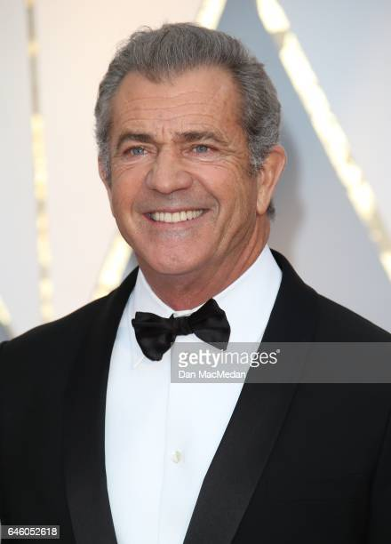 Actor Mel Gibson arrives at the 89th Annual Academy Awards at Hollywood Highland Center on February 26 2017 in Hollywood California