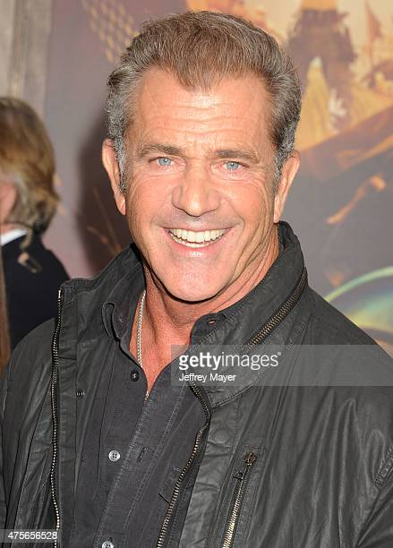 Actor Mel Gibson arrives at the Mad Max Fury Road Los Angeles Premiere at TCL Chinese Theatre IMAX on May 7 2015 in Hollywood California