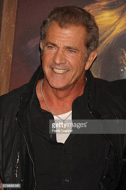 """Actor Mel Gibson arrives at the premiere of """"Mad Max: Fury Road"""" held at the TCL Chinese Theater in Hollywood."""