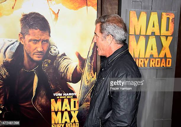 Actor Mel Gibson arrives at the Premiere Of Warner Bros Pictures' Mad Max Fury Road at TCL Chinese Theatre on May 7 2015 in Hollywood California