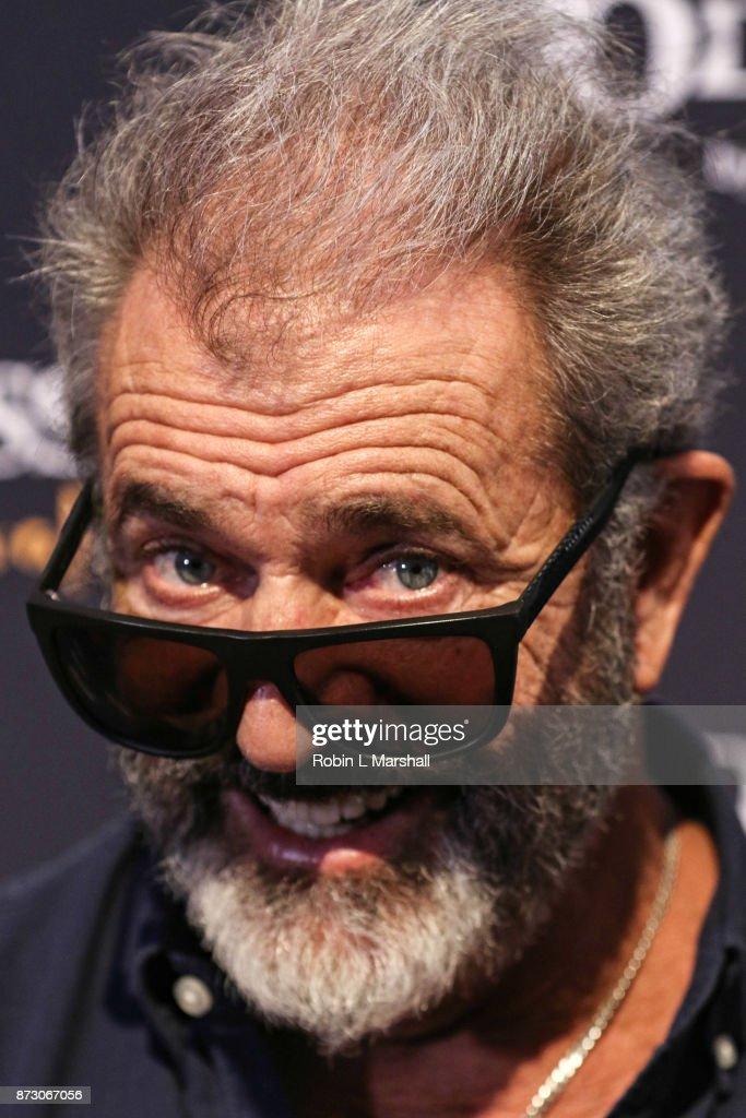 Actor Mel Gibson attends Cavalia Odysseo Celebrity Premiere on November 11, 2017 in Camarillo, California.