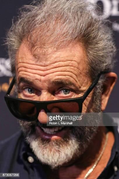 Actor Mel Gibson attends Cavalia Odysseo Celebrity Premiere on November 11 2017 in Camarillo California