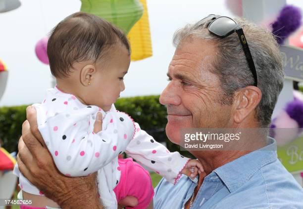 Actor Mel Gibson attends the Mending Kids International Gala celebrating kids successful surgeries on July 27 2013 in Malibu California