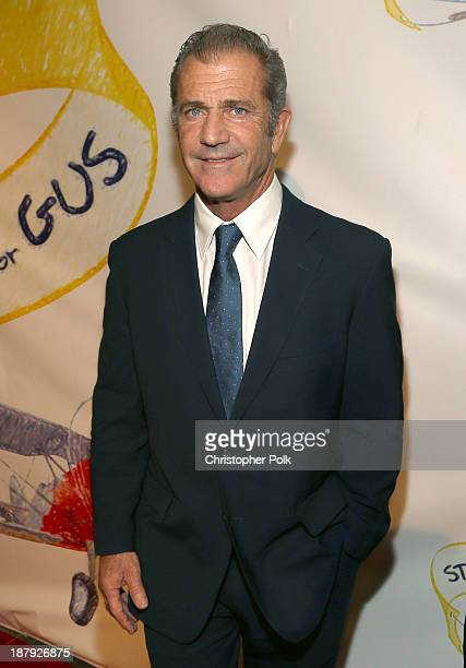Actor Mel Gibson attends the Stand Up For Gus Benefit at Bootsy Bellows on November 13 2013 in West Hollywood California