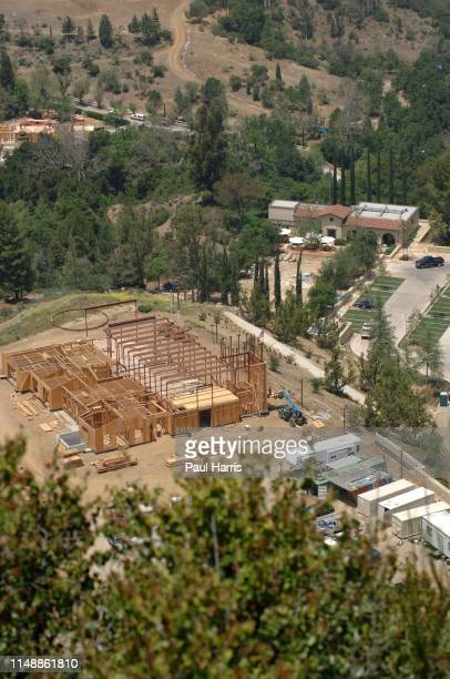 Actor Mel Gibson continues to add on to this Catholic church in the Santa Monica Mountains approximately 10 miles from his Malibu homeThe church...