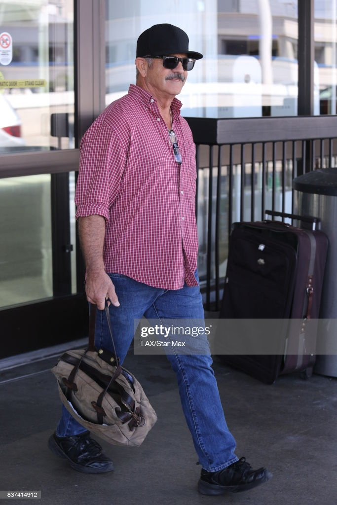 Actor Mel Gibson is seen on August 22, 2017 in Los Angeles, CA.