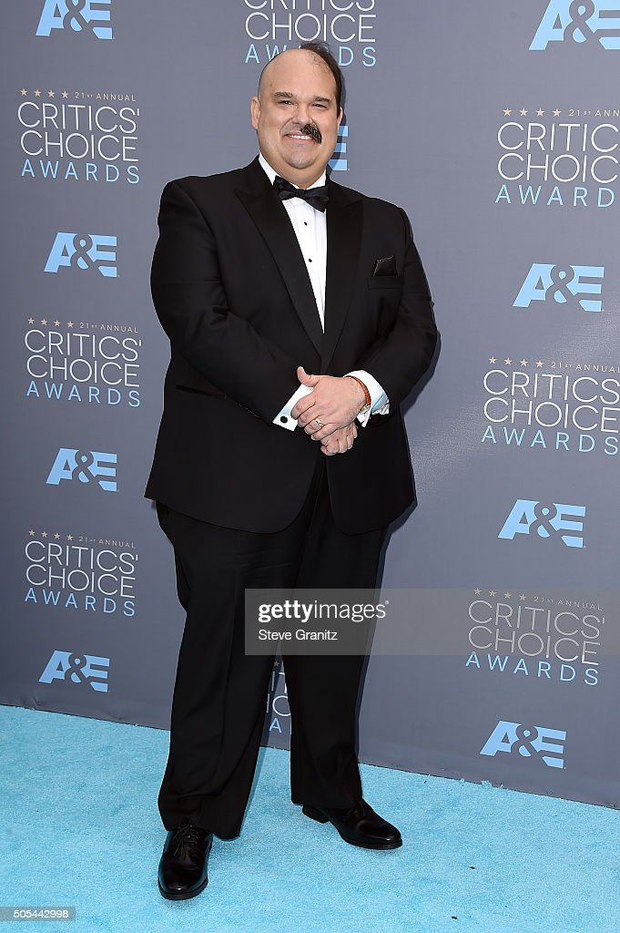 Actor Mel Rodriguez attends the 21st Annual Critics' Choice Awards at Barker Hangar on January 17, 2016 in Santa Monica, California.
