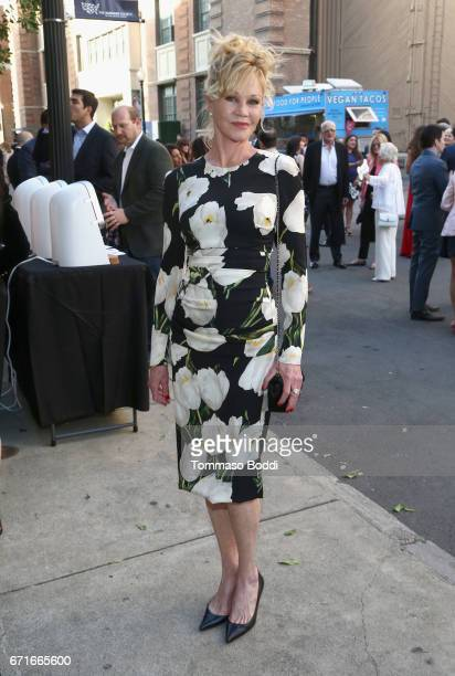 Actor Melanie Griffith at The Humane Society of the United States' To the Rescue Los Angeles Gala at Paramount Studios on April 22 2017 in Hollywood...