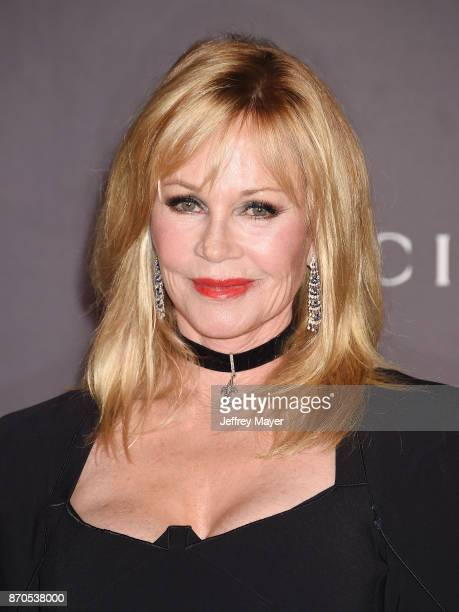 Actor Melanie Griffith attends the 2017 LACMA Art + Film Gala Honoring Mark Bradford and George Lucas presented by Gucci at LACMA on November 4, 2017...