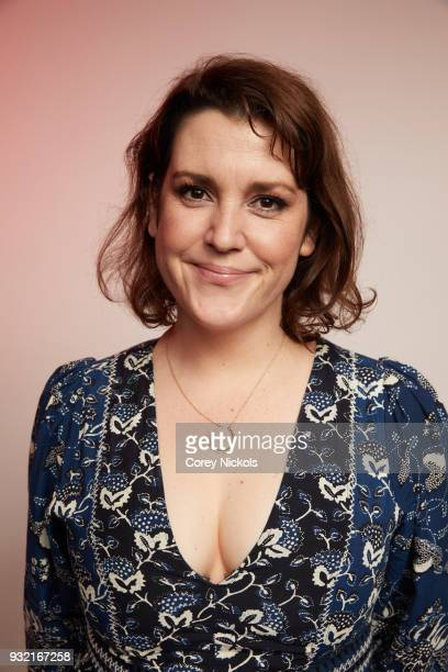 Actor Melanie Lynskey from the film Sadie poses for a portrait in the Getty Images Portrait Studio Powered by Pizza Hut at the 2018 SXSW Film...