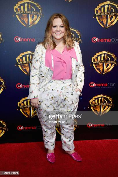 """Actor Melissa McCarthy attends CinemaCon 2018 Warner Bros Pictures Invites You to """"The Big Picture"""" an Exclusive Presentation of our Upcoming Slate..."""