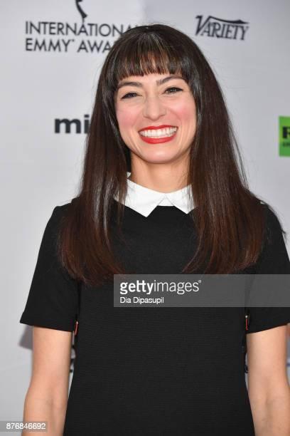 Actor Melissa Villasenor attends the 45th International Emmy Awards at New York Hilton on November 20 2017 in New York City
