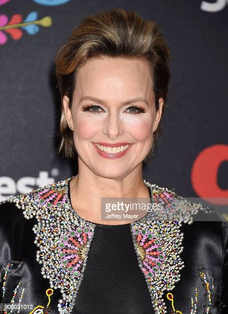 Actor Melora Hardin arrives at the premiere of Disney Pixar's 'Coco' at El Capitan Theatre on November 8 2017 in Los Angeles California
