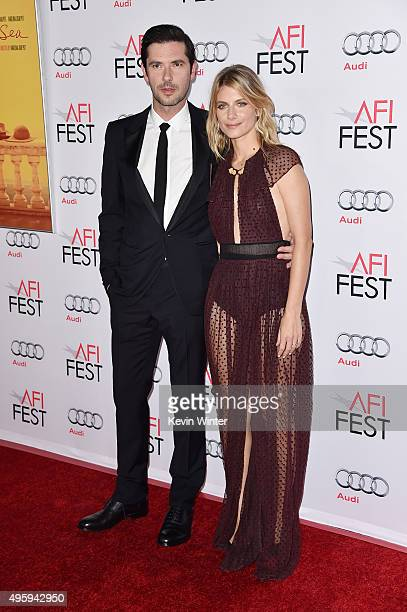 Actor Melvil Poupaud and actress Melanie Laurent attend the opening night gala premiere of Universal Pictures' 'By the Sea' during AFI FEST 2015...